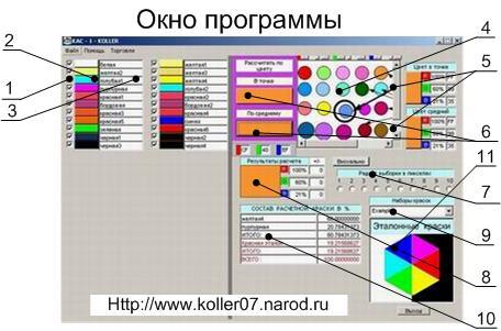 Программа Смешивания Цветов Онлайн